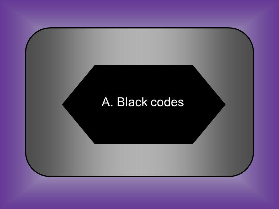 A:B: Black codes13 th Amendment #37 Laws limiting the rights of African Americans after the Civil War C:D: Radical Republicans15 th Amendment