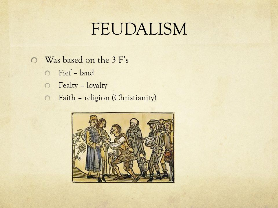 Feudal Contract Between the lord and his vassal Was an oath of allegiance (homage) in a formal ceremony Everyone in the feudal society was involved in an oath of allegiance