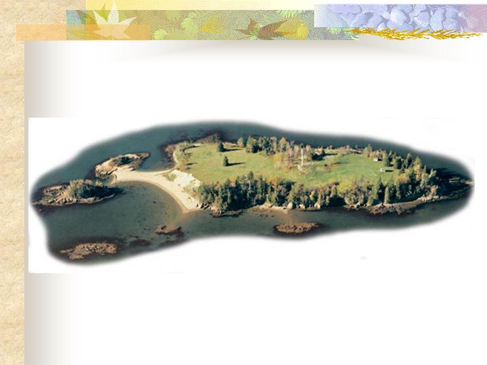 French Settlement on Saint Croix Island, 1604-05