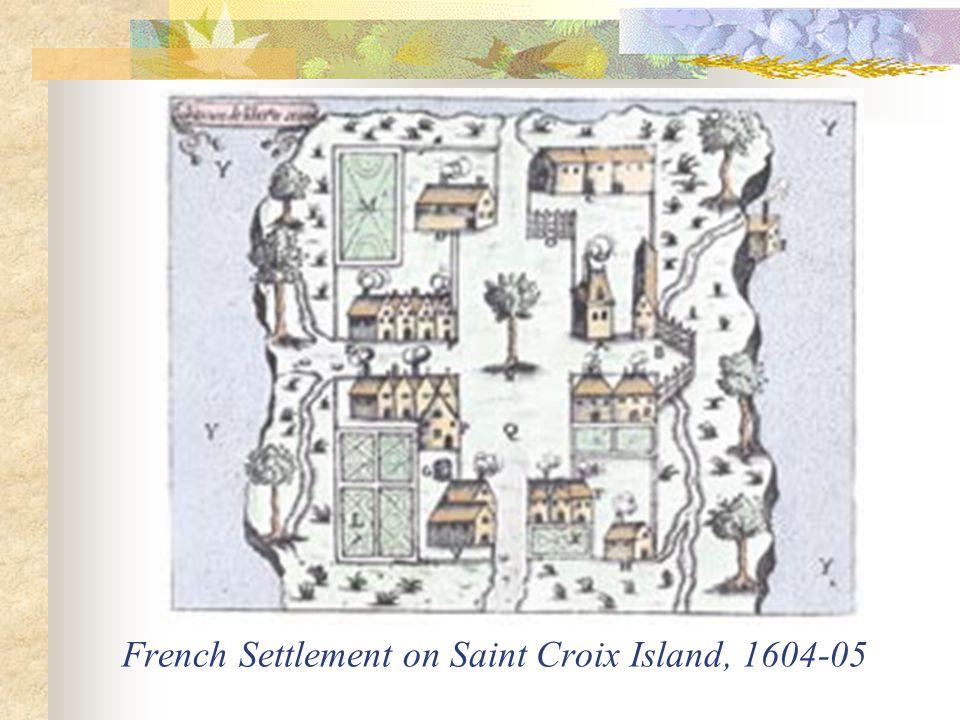 Habitation de Port Royal by Samuel de Champlain