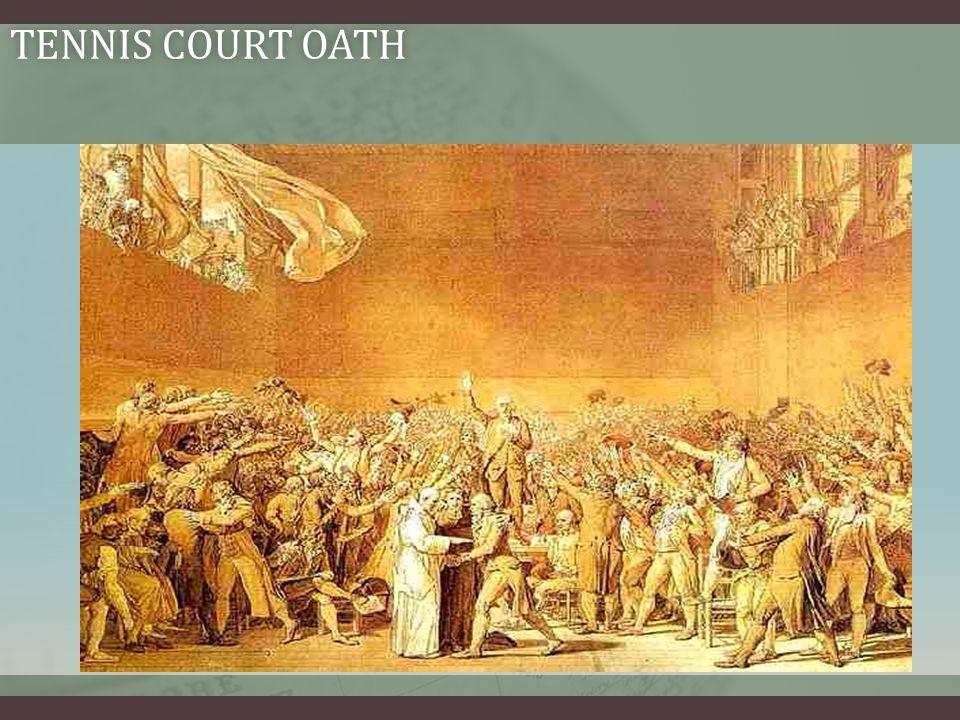 TENNIS COURT OATHTENNIS COURT OATH