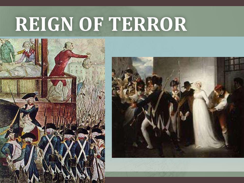 REIGN OF TERRORREIGN OF TERROR