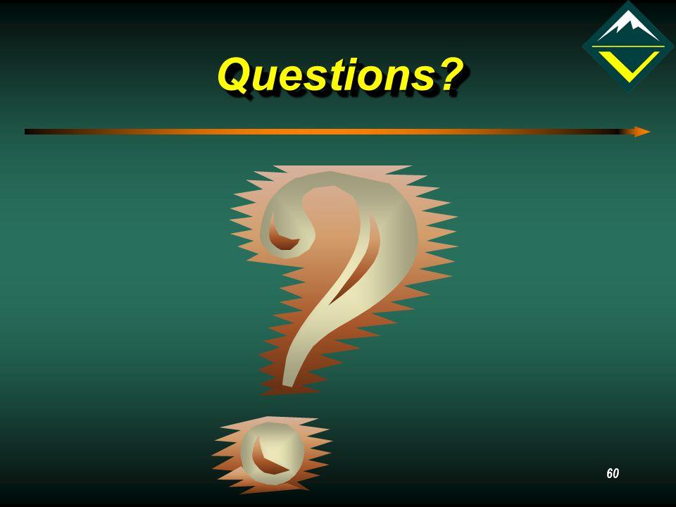 60 Questions Questions