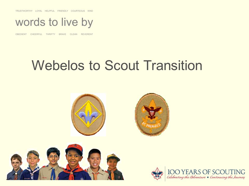 BSA Mission Statement To prepare young people to make ethical and moral choices over their lifetime by instilling in them the values of the Scout Oath and Law.
