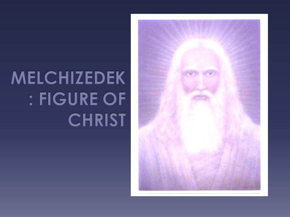  Melchizedek is the first Priest/King mentioned in the Bible in the Old Testament.