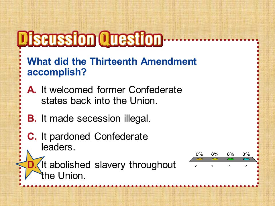 Essential QuestionEssential Question How did plans to unify the nation differ after the Civil War.