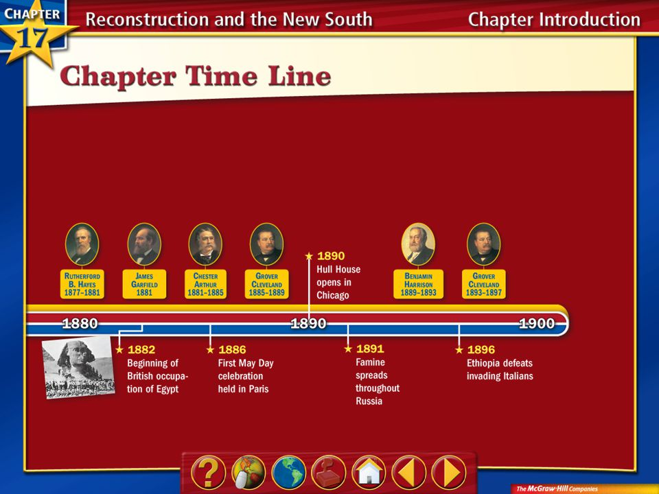 A.A B.B C.C D.D Section 1-Polling QuestionSection 1-Polling Question If you were President Lincoln, how would you have treated the South after it lost the Civil War.