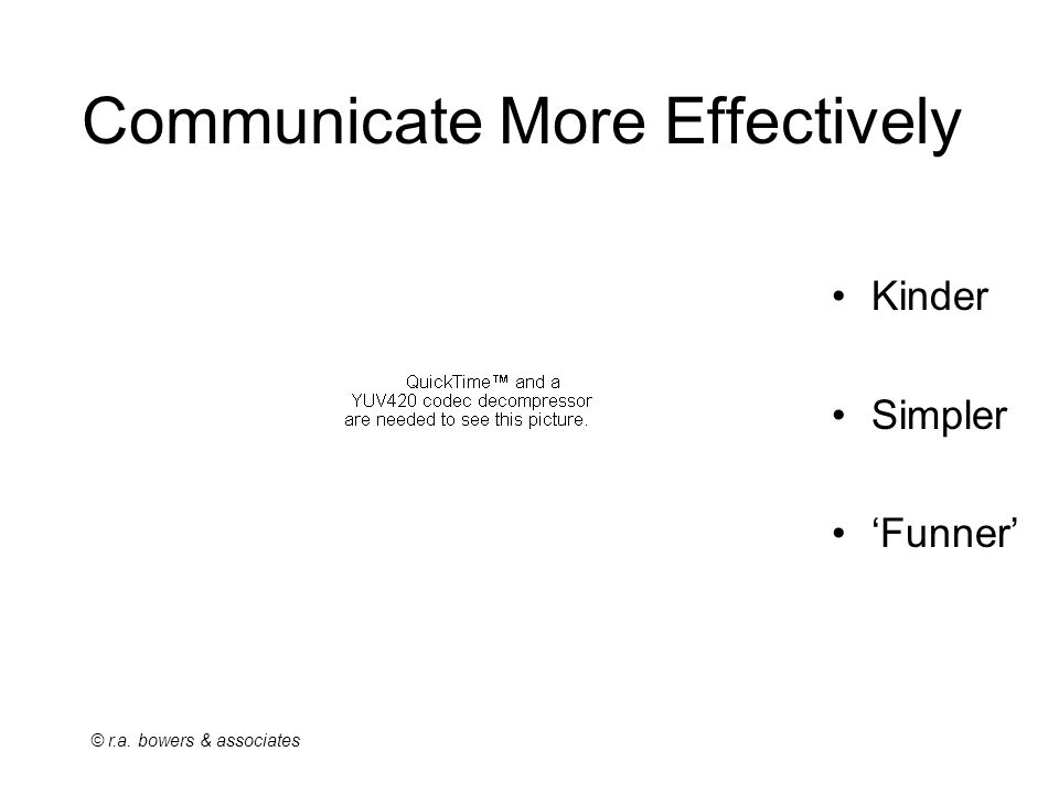 Communicate More Effectively Kinder Simpler 'Funner'