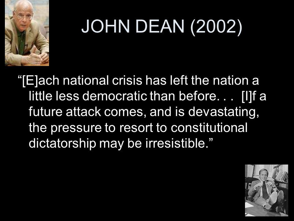 JOHN DEAN (2002) ...
