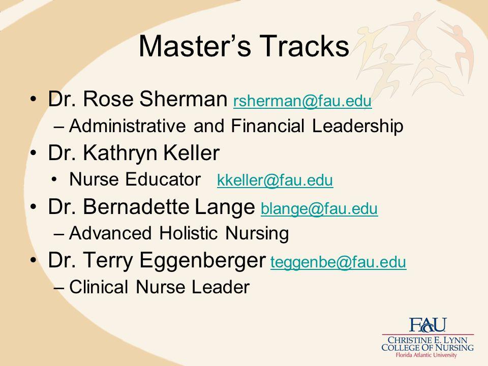 Master's Tracks Dr.