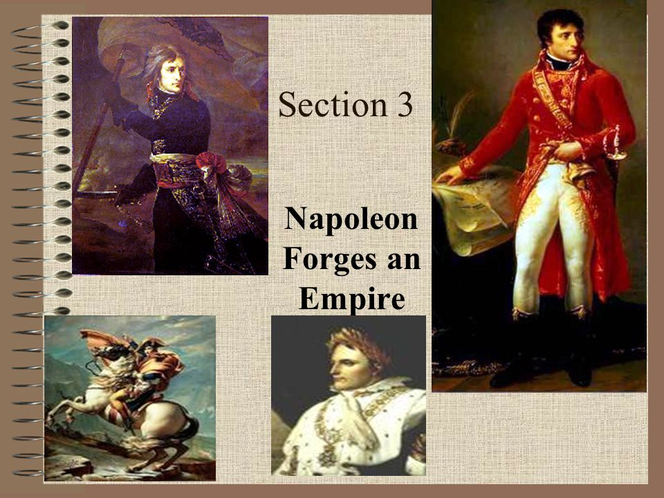 Section 3 Napoleon Forges an Empire