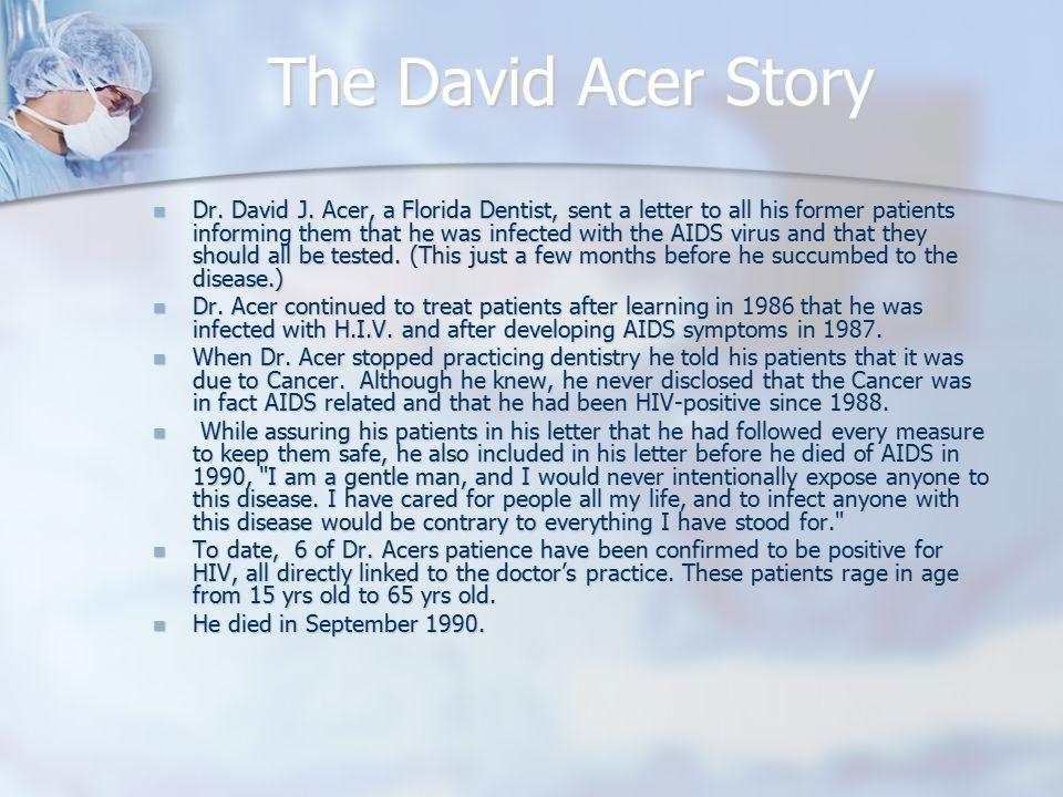 Dr.Acer & Kimberly Bergalis Dr.
