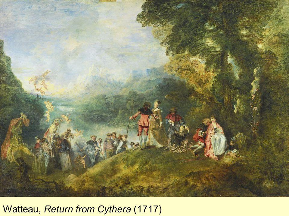 Watteau, Return from Cythera (1717)