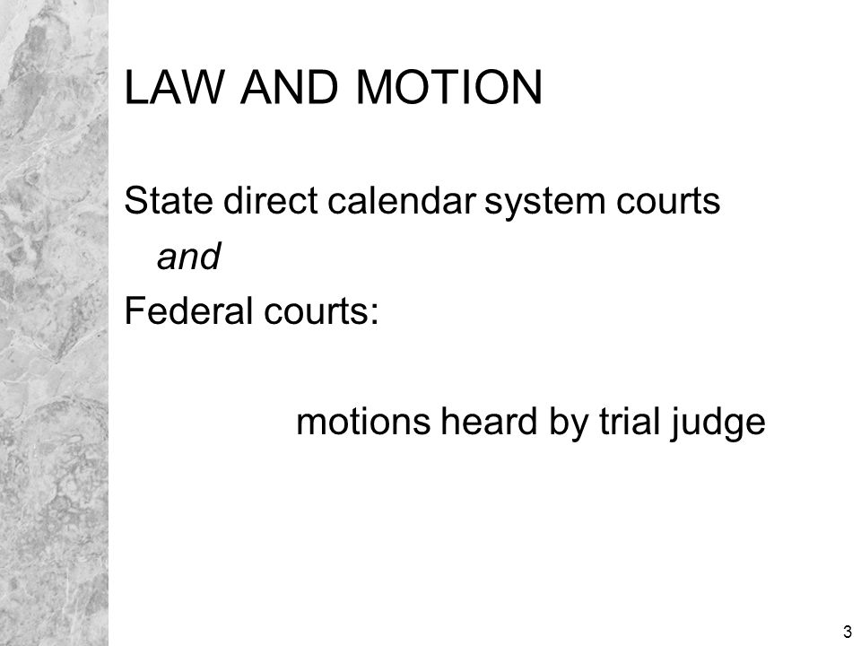 14 OPPOSITION POINTS AND AUTHORITIES Caption with Date/Time/Department Cite law against motion Refer to supporting evidence Argue to persuade judge Subscription