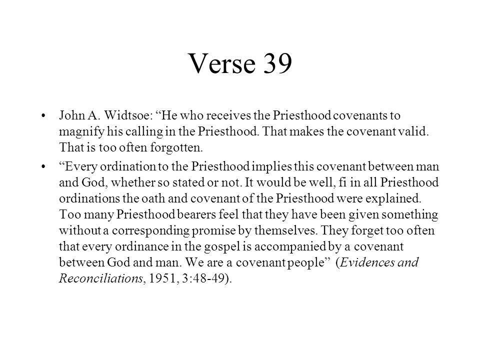 Verse 39 John A.
