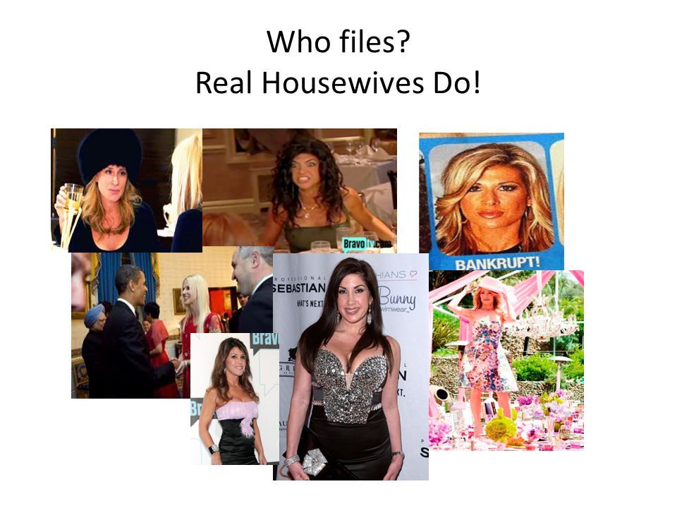 Who files? Real Housewives Do!