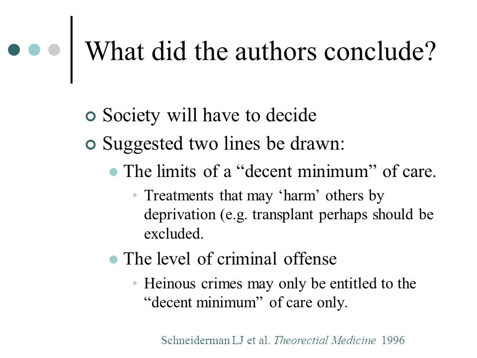 What did the authors conclude.