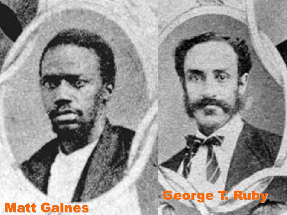 George T. Ruby Matt Gaines