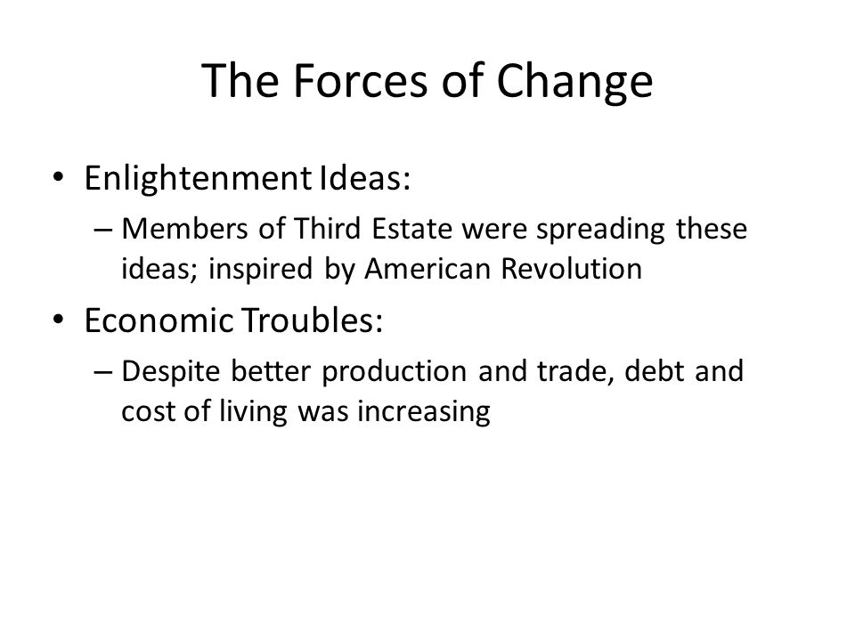 Key Idea The revolutionary government of France made reforms but also used terror and violence to retain power.