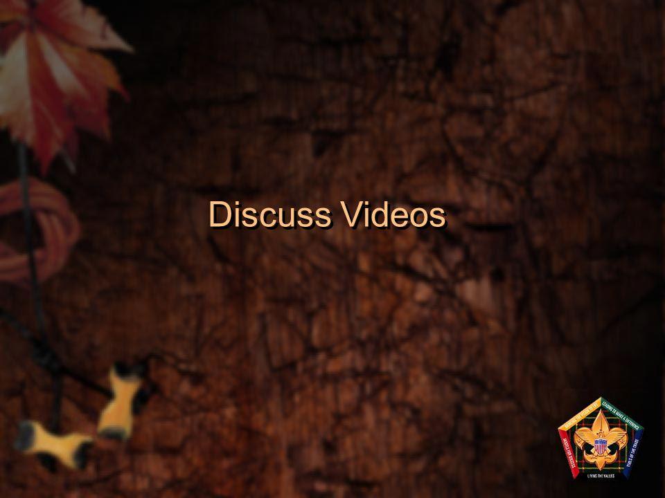 Discuss Videos