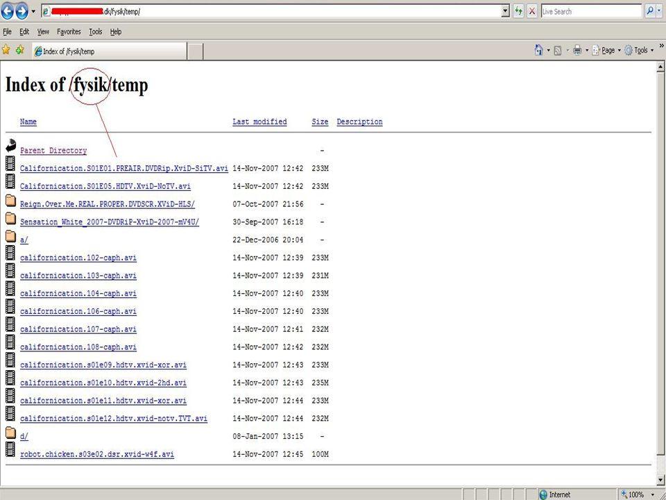 Example of Phishing: