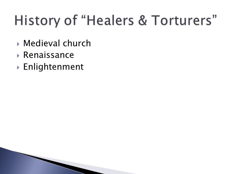  Medieval church  Renaissance  Enlightenment
