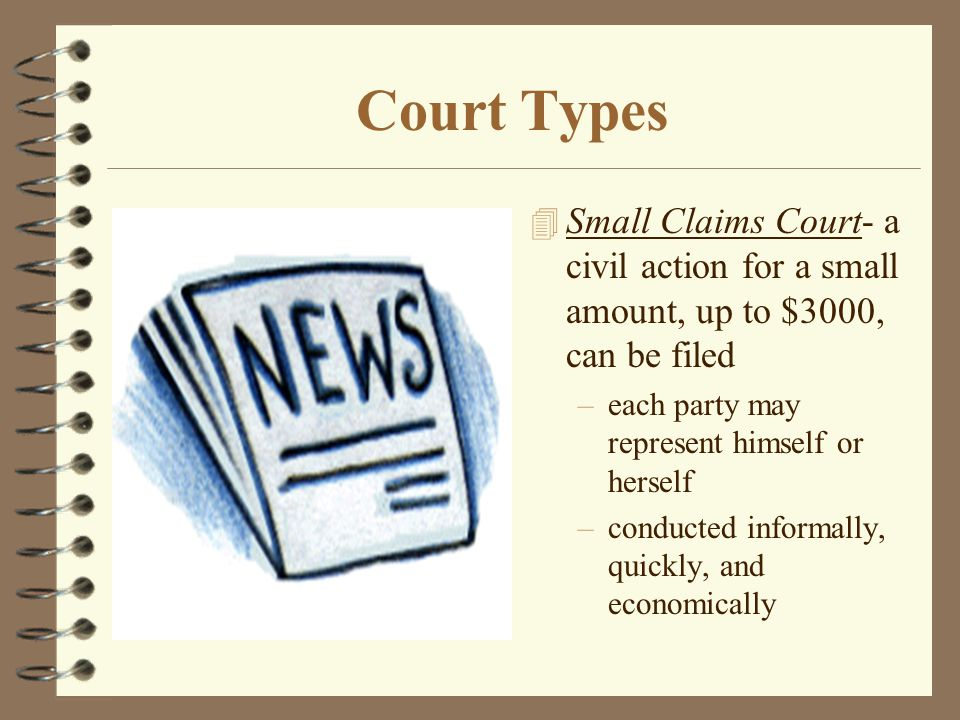 What Is Our System of Courts. 4 Federal Courts –includes 13 intermediate U.S.