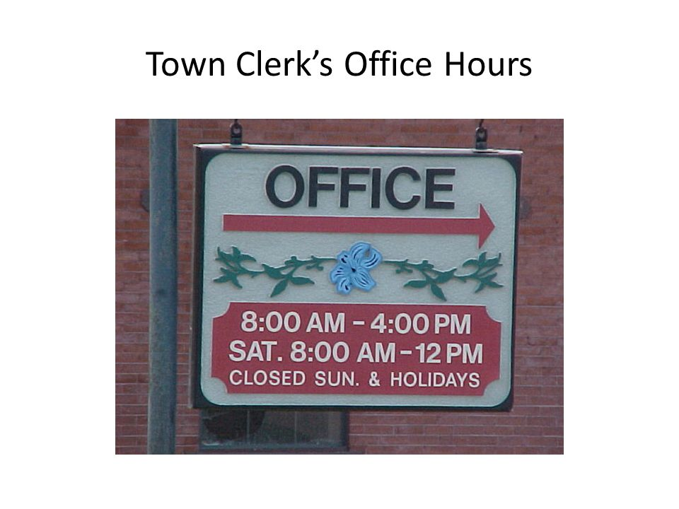 What is the Clerk's Role regarding Oaths of Office?