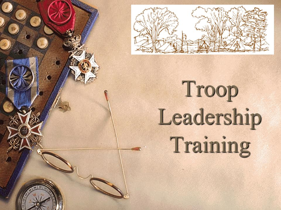 Leadership List on board or flip chart – 1-5 minutes  Why should Scouts choose to be leaders?