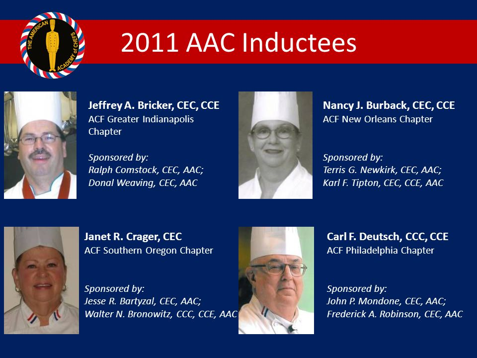 2011 AAC Inductees Jeffrey A.