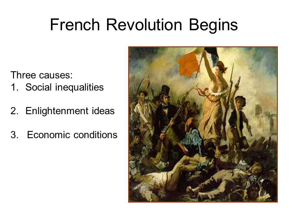 reasons for the french revolution essays
