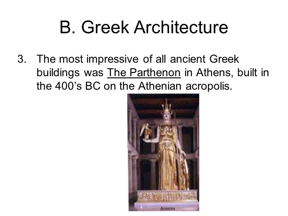 B.Medicine and Engineering 1.Some Greek scientists studied medicine and engineering.