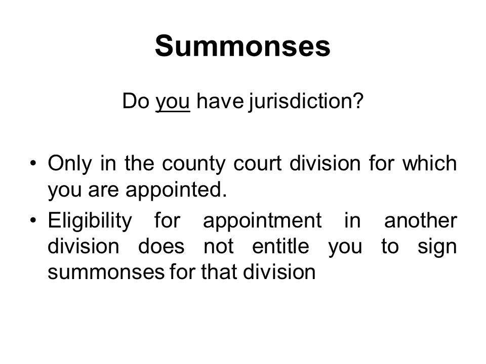 Summonses Form 1 Complaint/Summons – whether same LM still needs to do both Article 20(1) 1981 Order provides: Upon a complaint being made to a lay magistrate ….
