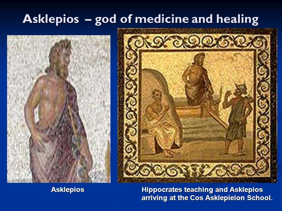 Asklepios – god of medicine and healing Asklepios – god of medicine and healing Asklepios Hippocrates teaching and Asklepios Asklepios Hippocrates tea