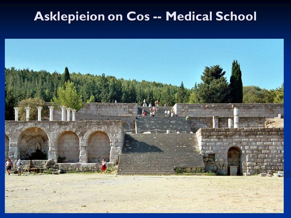 Asklepieion on Cos -- Medical School
