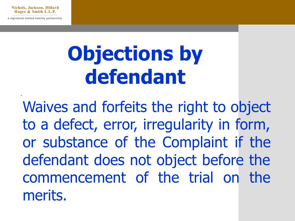 Objections by defendant.