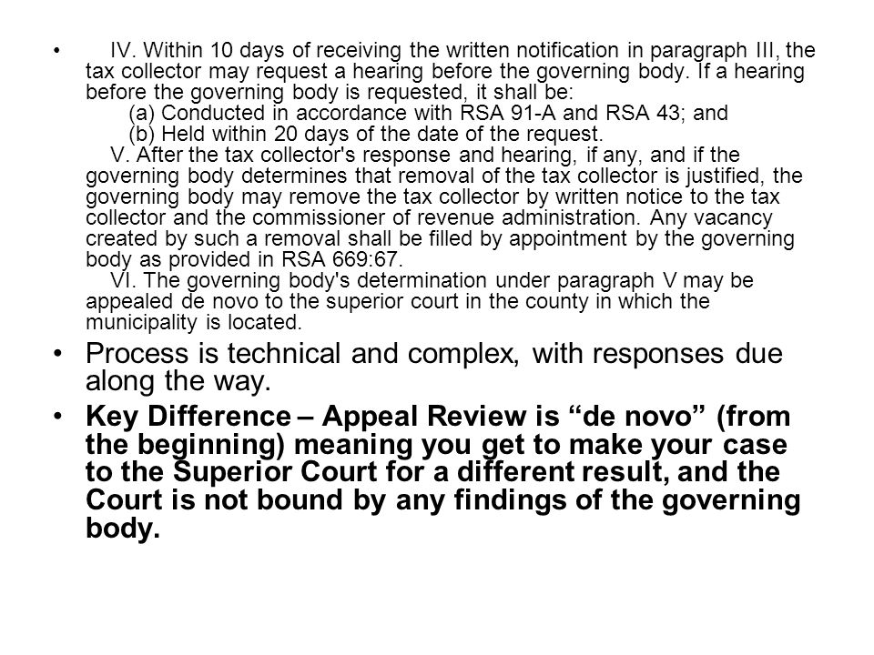 Statutory Removal - Oath of Office –42:1-a Manner of Dismissal; Breach of Confidentiality.