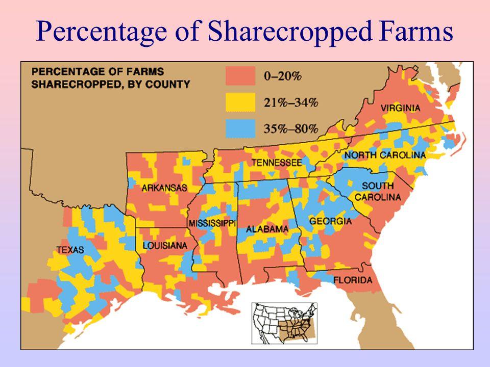 Slavery vs. Sharecropping