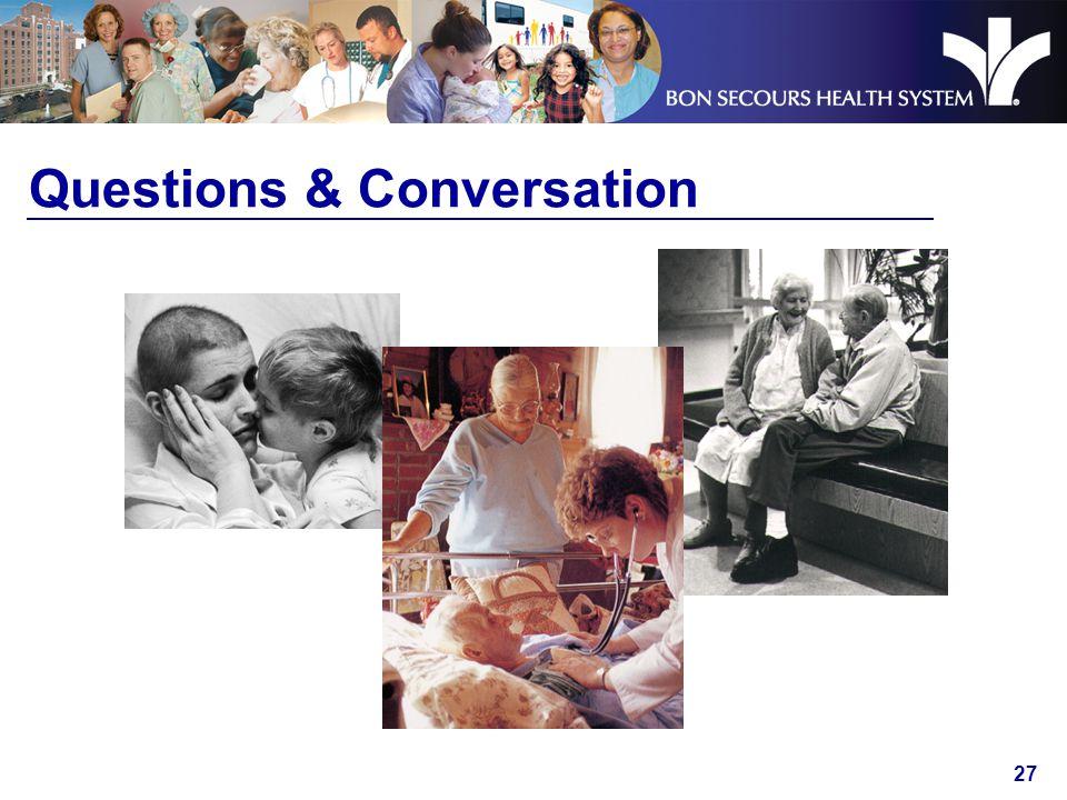 27 Questions & Conversation