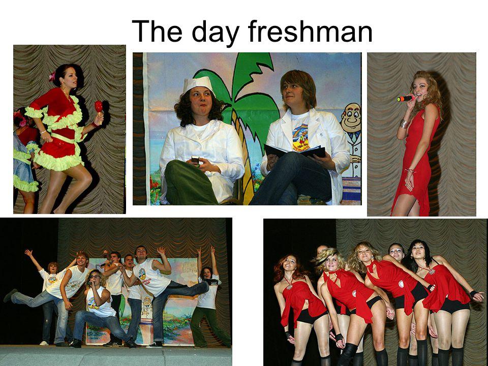 The day freshman