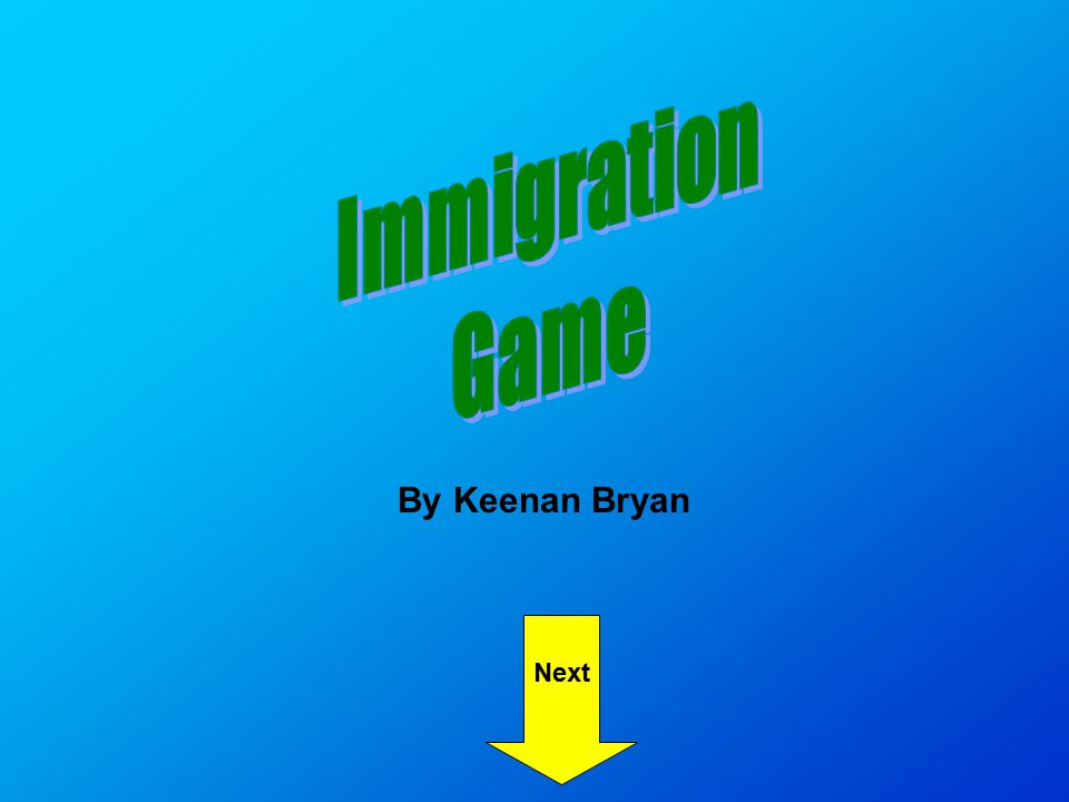 Next By Keenan Bryan