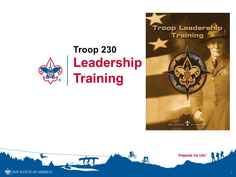 1 Leadership Training Troop 230