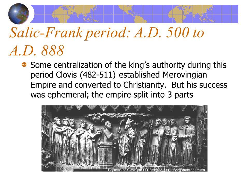 No Legislation in the Modern Sense Clovis did not promulgate the Lex Salica as royal legislation or ordinance.