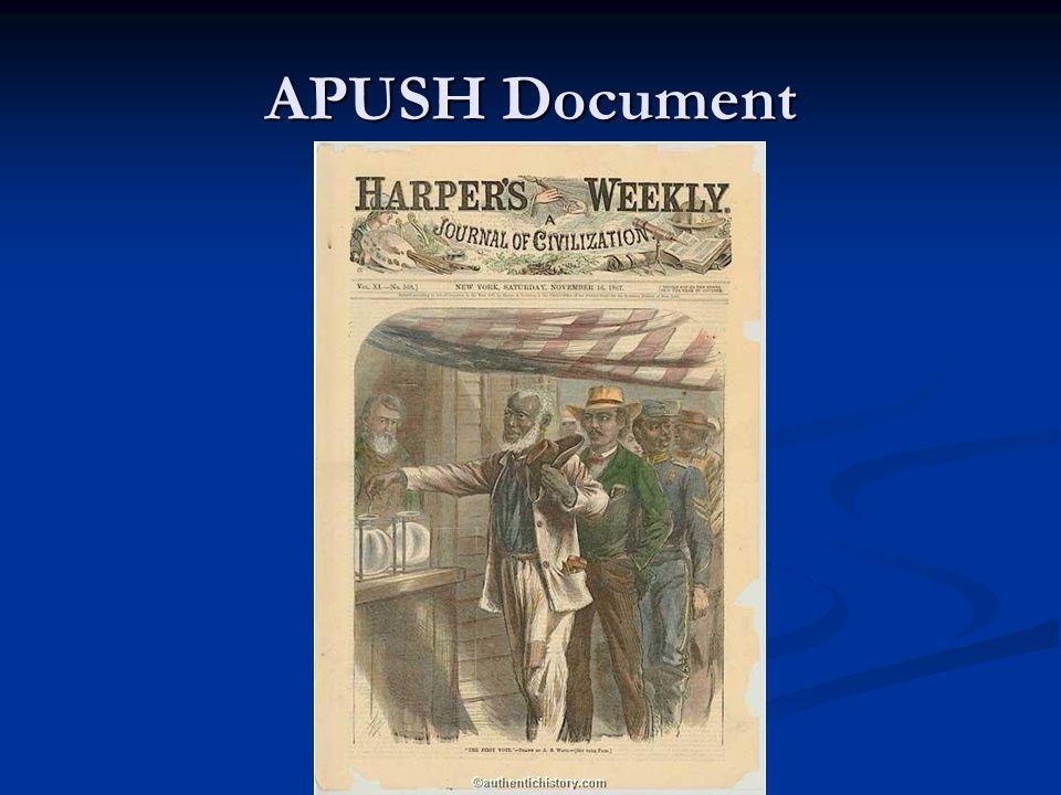 APUSH Document