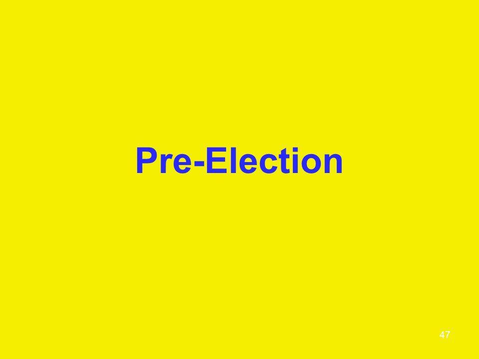 Pre-Election 47