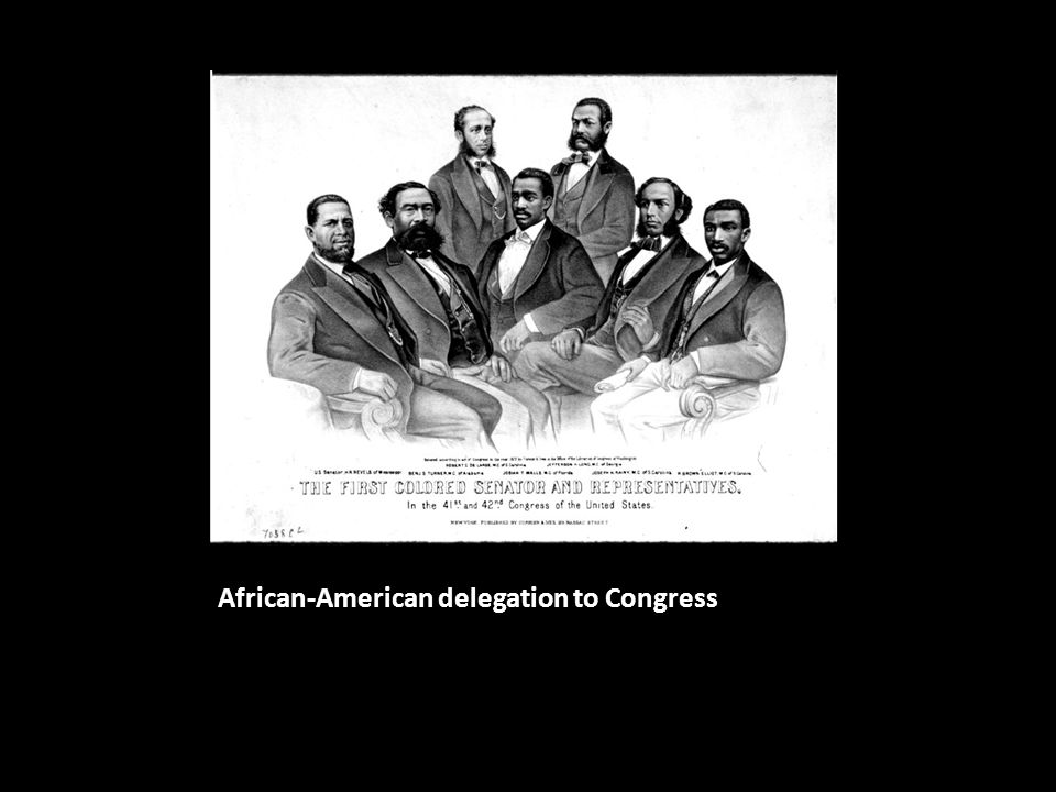 African-American delegation to Congress