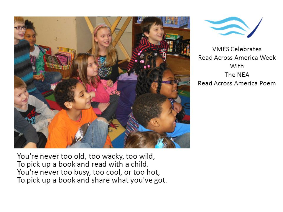 In schools and communities, Let s gather around, Let s pick up a book, Let s pass it around.