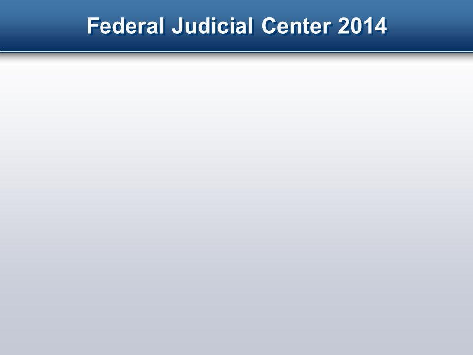 Federal Judicial Center 2014 Explained the reason for the ban Instructed jurors multiple times