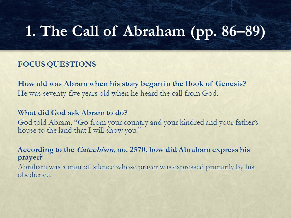 GUIDED EXERCISE Read the Catechism, no.2570 (p. 87).