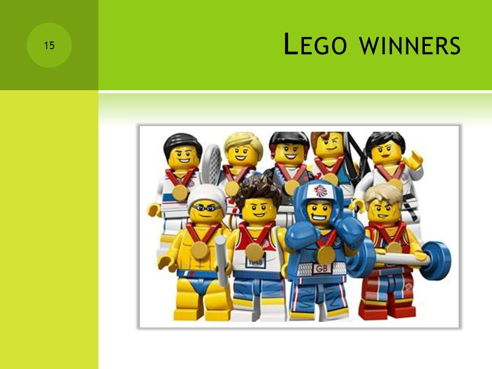 L EGO WINNERS 15